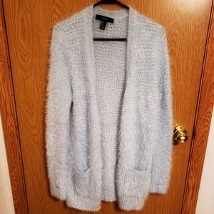 Forever 21 fuzzy cardigan